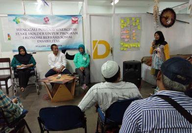 Linksos Gandeng  PPD Kemensos Kembangkan Pokja Wirausaha Difabel di Malang