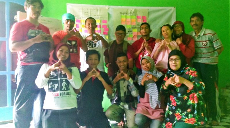 Rapat Pokja Pemuda di Omah Difabel