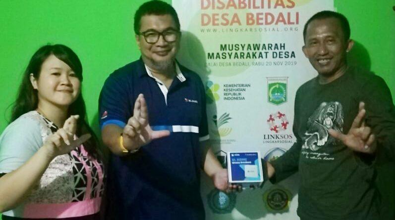 Donasi Internet dari XL untuk Omah Difabel