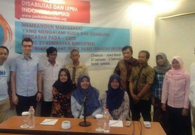 Sosialisasi CRPD pasal 21 di seluruh Indonesia