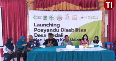 Pertama di Jatim, Desa Bedali Launching Posyandu Disabilitas
