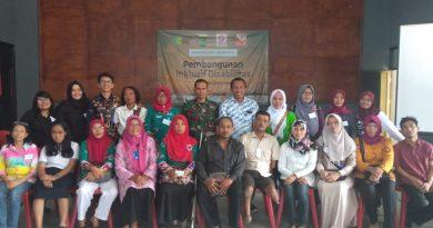 Membangun Desa Inklusi melalui kelompok Kerja